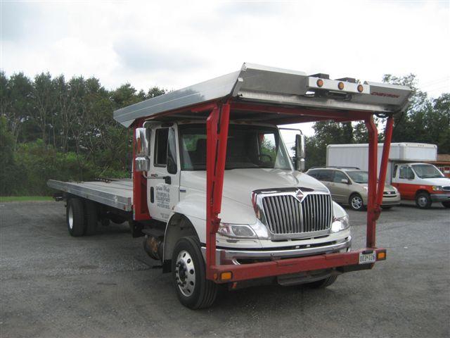 2008 Intl Four Car Rollback 47950 Edinburg Trucks