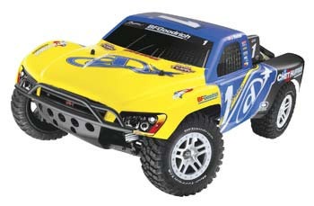 Traxxas Slash 4X4 VXL TQi/2 4GHz RTR Yellow/Blue