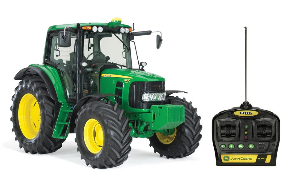 Large John Deere Farm Tractors : John deere big farm radio control lights and sounds