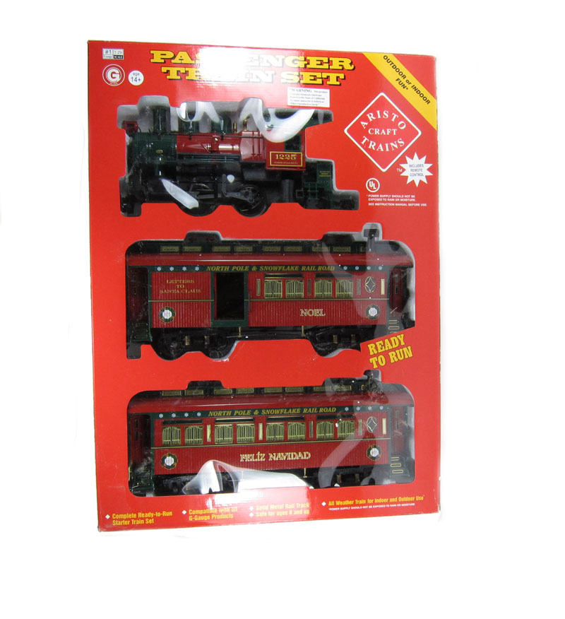 Christmas Train.Aristo Craft Christmas Train G Scale