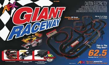 AFX Giant Raceway Slot Car Set | Edinburg Trucks